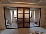 Алюминиевые слайд двери